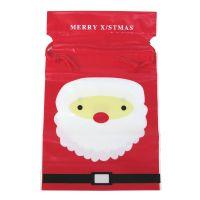 圣诞老人礼品包装袋 抽绳袋
