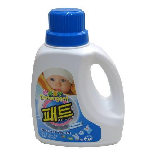 霸特婴儿原生态柔护洗衣液2L H39