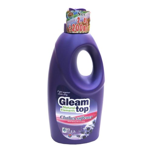 GLEAM TOP闪逸熏香柔软除静电柔顺剂2.2L(紫色薰衣草味)D10