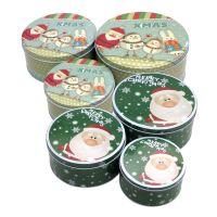圣诞小圆罐子
