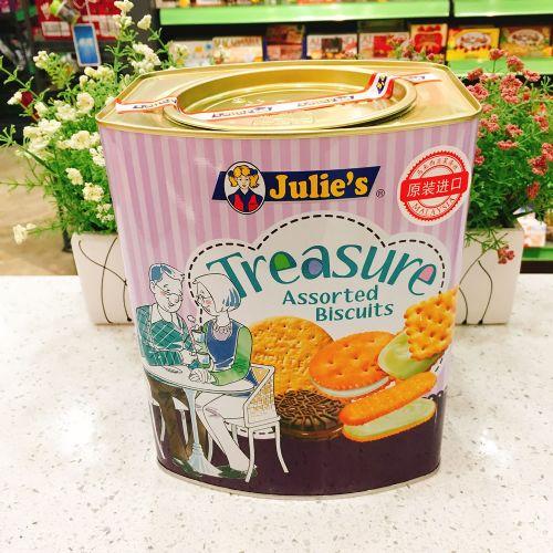 马来西亚 Julie's茱蒂丝珍宝什锦饼干530g