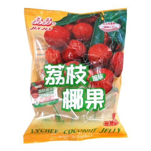 晶晶荔枝风味果冻400g