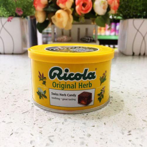 Ricola含糖香草润喉糖瑞士利口乐原味100g