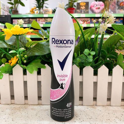 英国Rexona舒耐女士喷雾200ml(清新纯净・粉灰色)