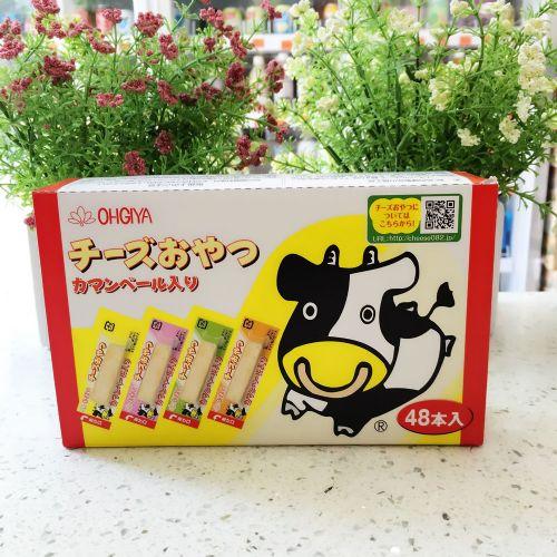 日本扇屋鳕鱼奶酪条芝士条48入134.4g