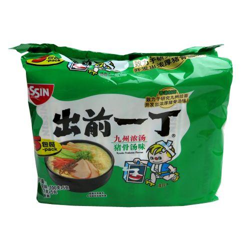 出前一丁九州浓汤猪骨汤味方便面100g×5包