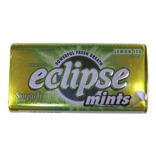 Eclipse易极薄荷糖柠檬味34g