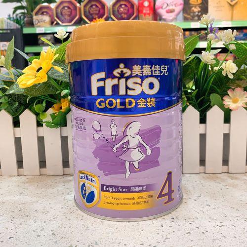 港版美素佳儿金装配方奶粉4段900g 3岁以上适用