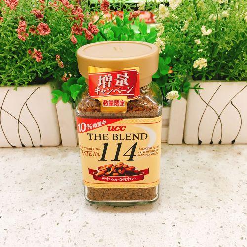 UCC 114甘香即溶咖啡90g(樽�b)