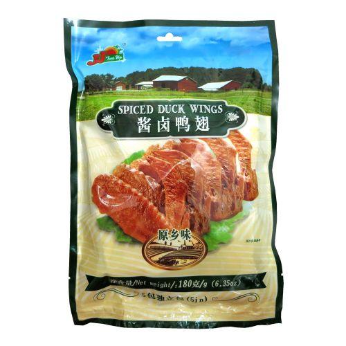 香港尊杰JJ酱卤鸭翅(原味)5包独立包180g