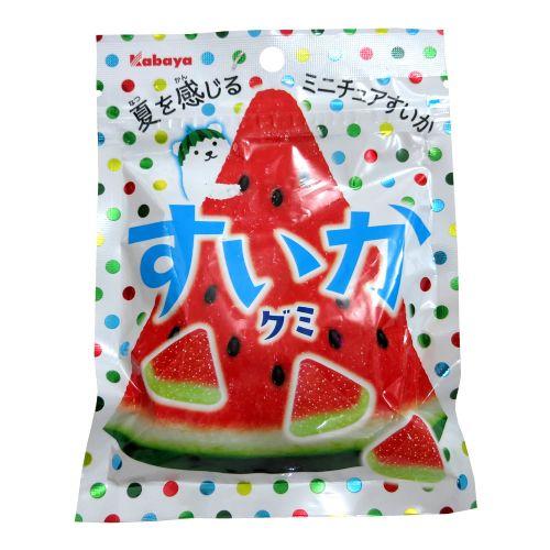 日本卡巴也kabaya卡巴呀 西瓜水果味QQ软糖50g