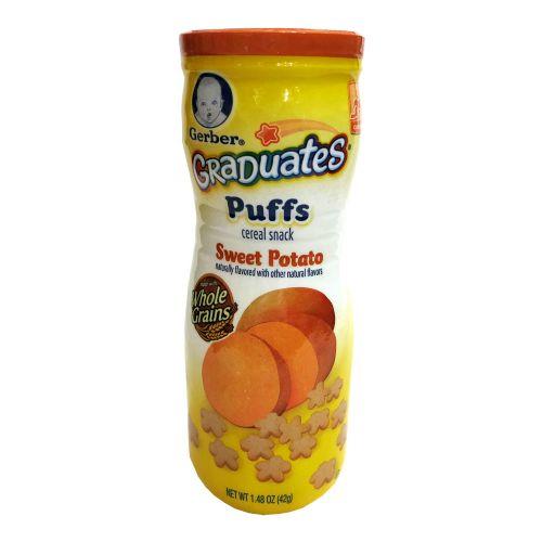 美国嘉宝Gerber GraDuates Puffs 纪念版泡芙42g 薯仔味