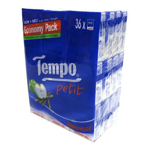 36包装Tempo得宝纸巾苹果味