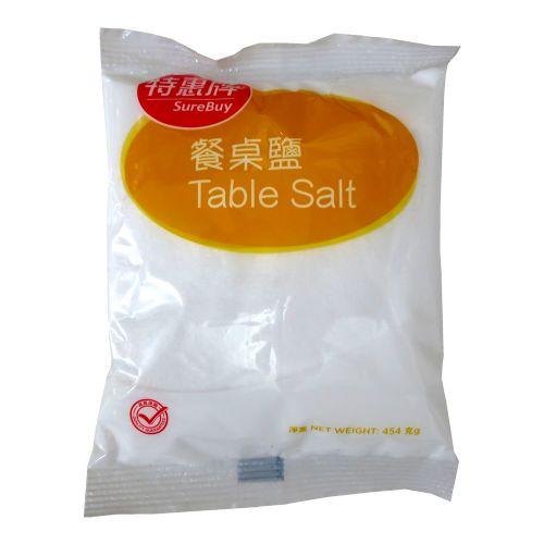 香港特惠牌餐桌盐454g