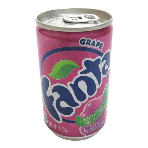 日本葡萄味汽水芬达汽水160ml迷你罐
