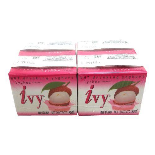 泰国IVY酸奶荔枝味180ml×4