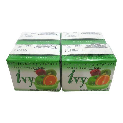 泰国IVY酸奶杂锦味180ml×4