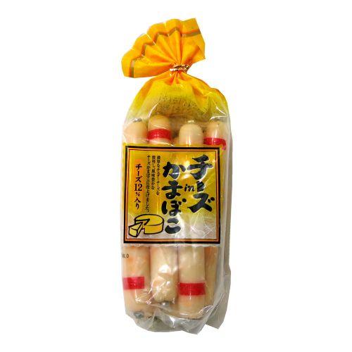 日本切达补钙芝士鳕鱼肉肠8条装256g