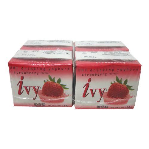 泰国IVY酸奶草莓味180ml×4