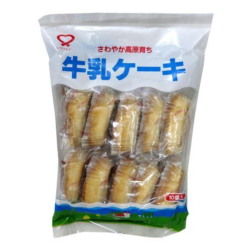 日本长野高原牛乳蛋糕10个(袋装)