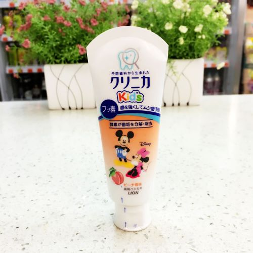 狮王LION儿童牙膏(水蜜桃味)60g