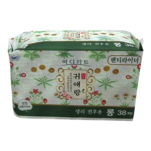贵爱娘SOFY韩方中草药护垫38片17.5cm