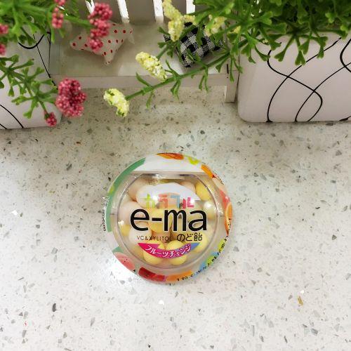 日本味觉e-ma杂果味润喉糖33g