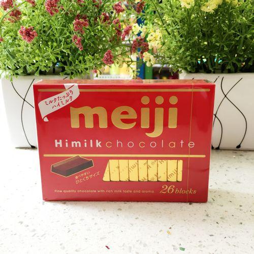 日本明治钢琴牛奶巧克力26块(红色)