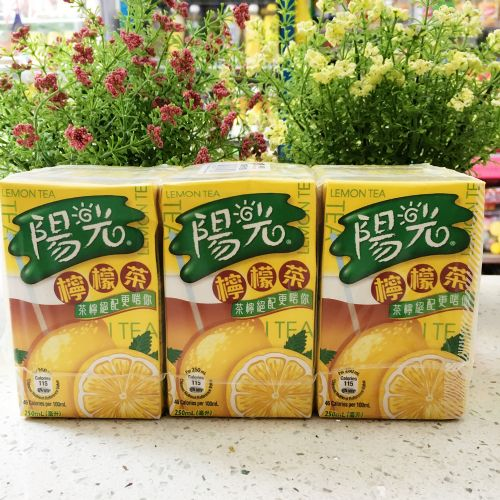 阳光柠檬茶250ml×6盒