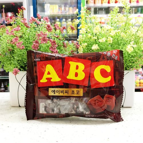 韩国乐天ABC巧克力65G