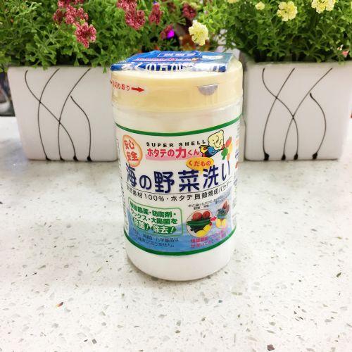 日本汉方果蔬贝壳粉 消除农药残留 洗菜粉 洗果蔬粉