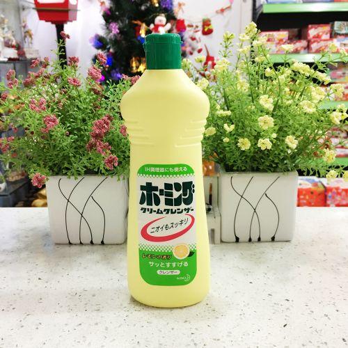 日本花王洗洁精研磨洗涤剂强效除顽固油渍污渍柠檬香400g