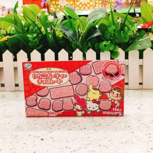 不二家牛奶妹Sanrio草莓味巧克力40g