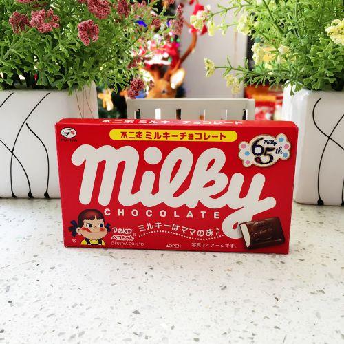 不二家牛奶妹夹心巧克力12粒(盒装)