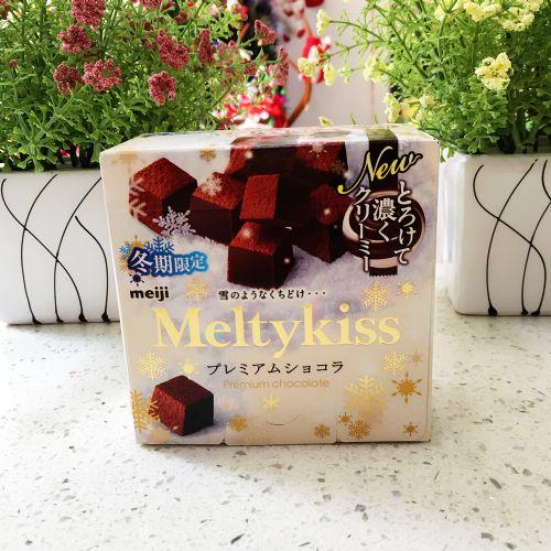 日本明治Meltykiss雪吻巧克力(牛奶味) 60g
