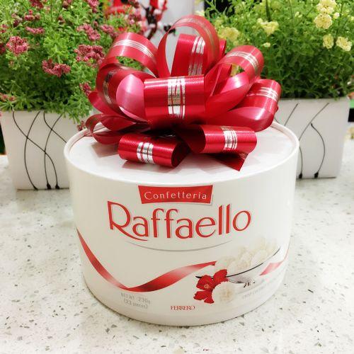 波兰费列罗金莎拉斐尔雪莎椰蓉酥球白巧克力脆雪柔 T23粒礼盒装230g