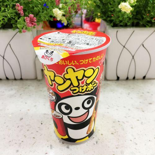 日本明治熊猫朱古力饼48g(杯装)