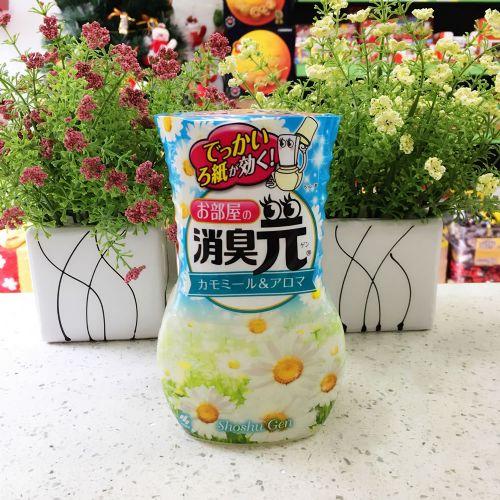 日本原装小林制药液体芳香剂洋甘菊香400ml消臭元空气清新除臭