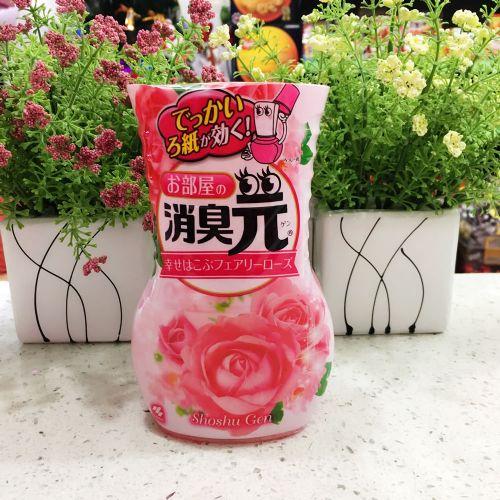 日本原装小林制药液体芳香剂玫瑰香400ml消臭元空气清新除臭
