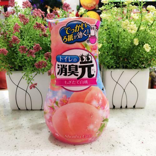 日本原装小林制药液体芳香剂蜜桃香400ml消臭元空气清新除臭