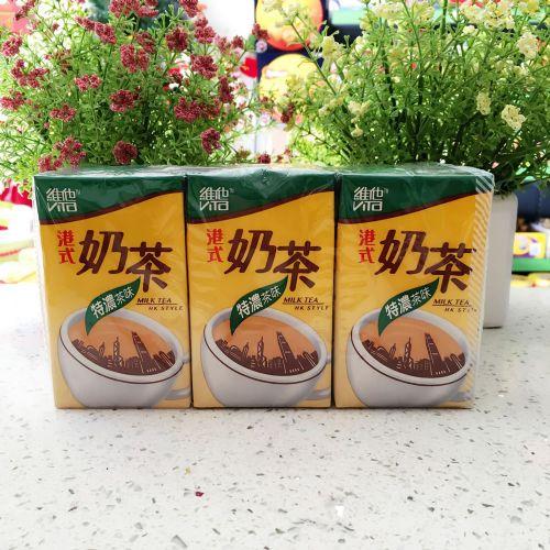 维他港式特浓奶茶饮料250ml×6