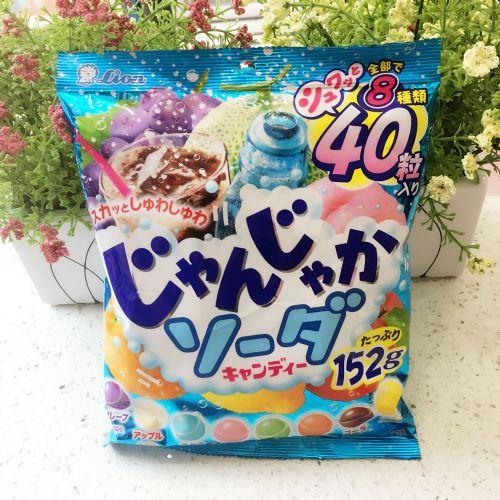 狮王7款汽水杂果糖152g(袋装)