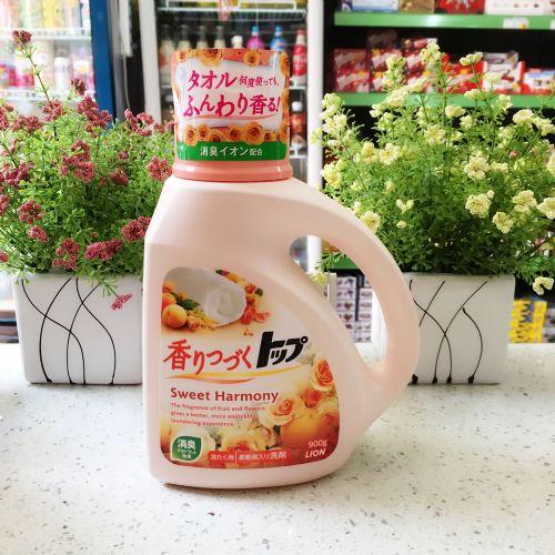 日本狮王TOP香味持续洗衣液(花果香型)900g