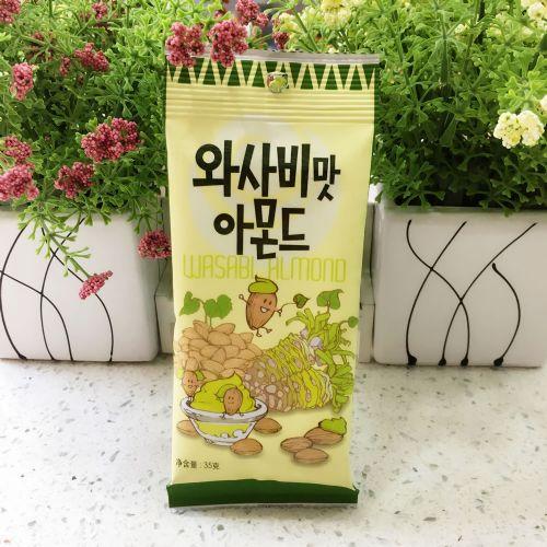 韩国汤姆农场芥末味扁桃仁杏仁35g