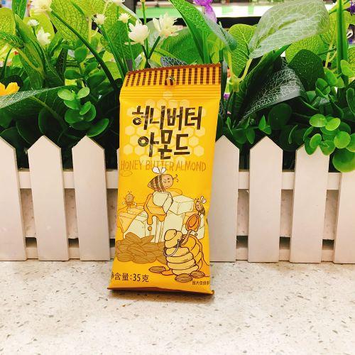 韩国汤姆农场蜂蜜黄油扁桃仁杏仁35g