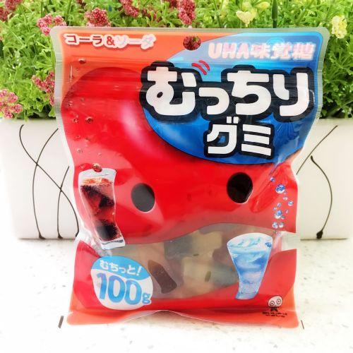 UHA味觉提子可乐软糖100g(袋装)