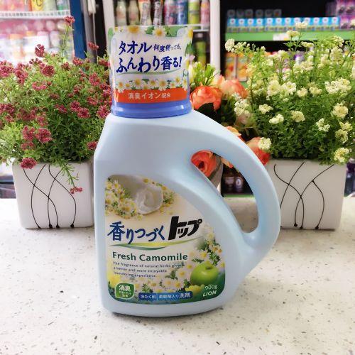 日本狮王TOP香味持续洗衣液(甘菊苹果香型)900g