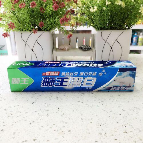 狮王洁白牙膏超凉薄荷200g
