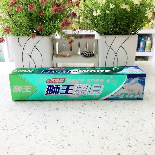 狮王洁白牙膏清凉薄荷200g