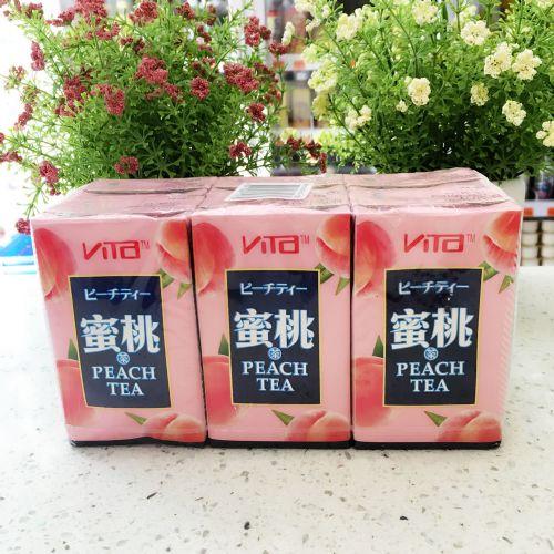 维他日式桃茶250ML×6盒装